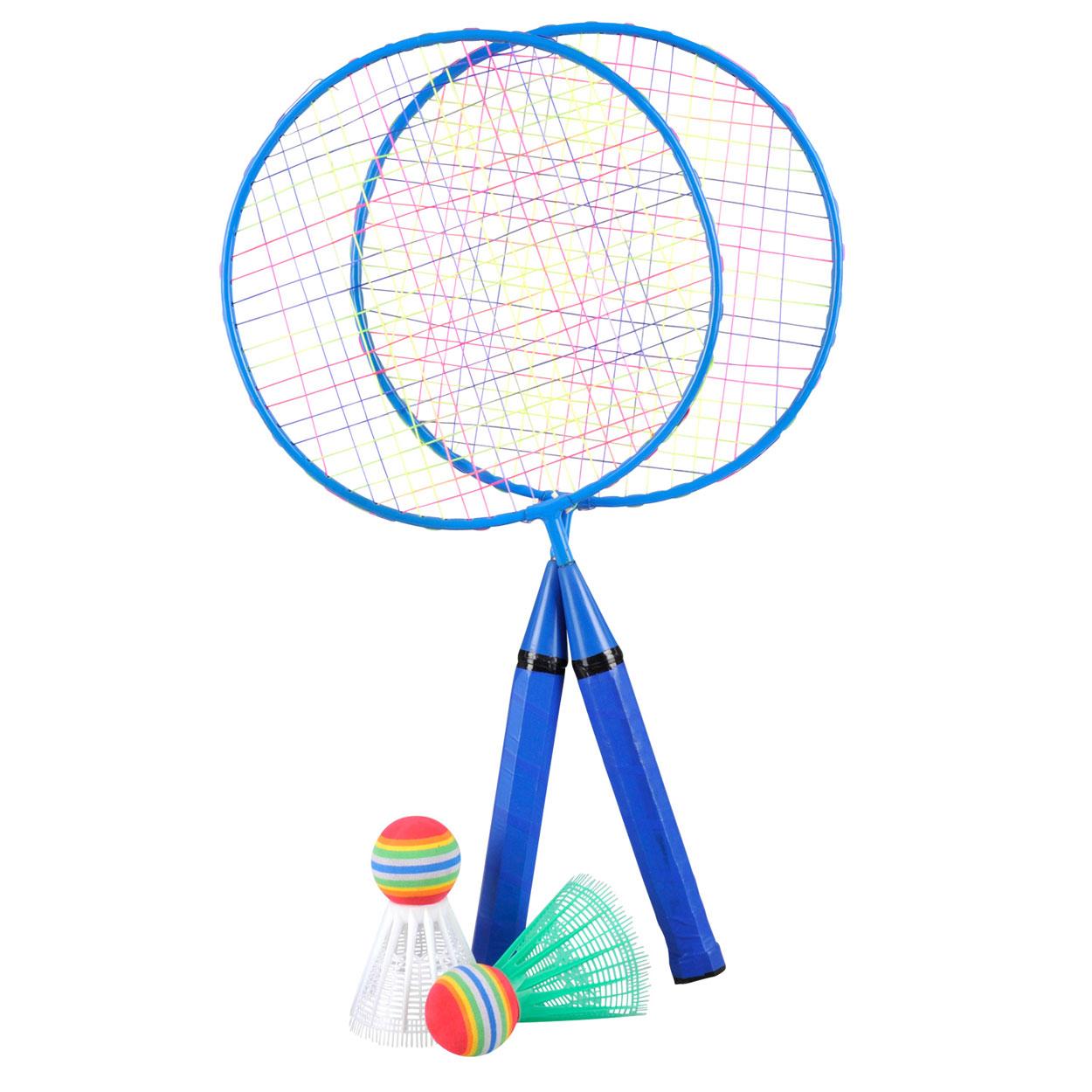 Blauw Badmintonset online kopen   Lobbes.nl Badmintonset Kinderen