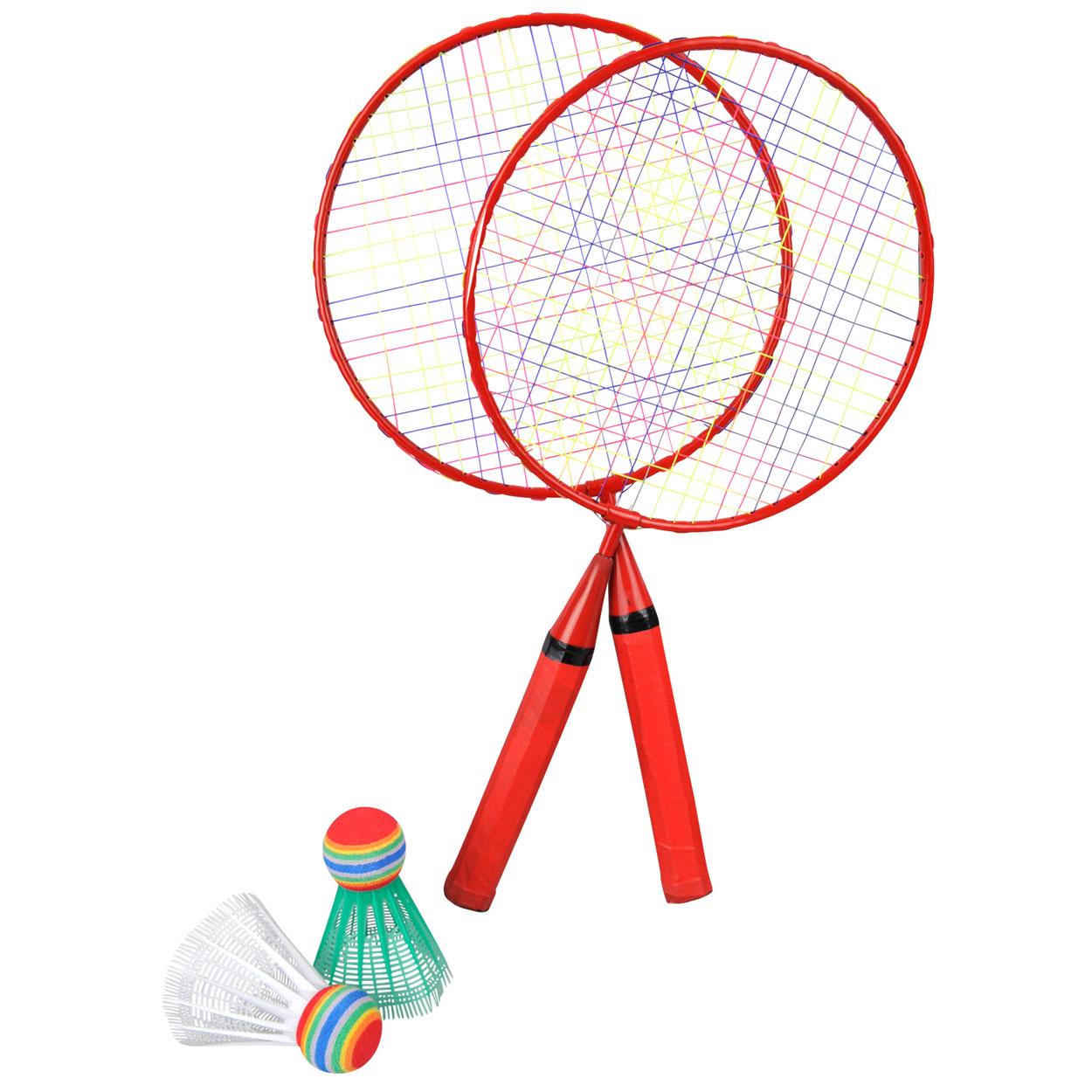 Rood Badmintonset online kopen   Lobbes.nl Badmintonset Kinderen